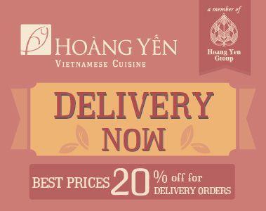 promotion - hoang yen cuisine